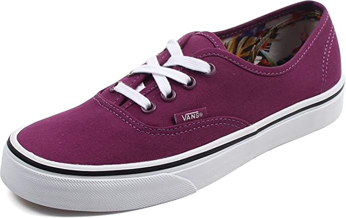 Vans Authentic Sneakers Damen Dunkel Lila (Cuban Floral Dark Purple)