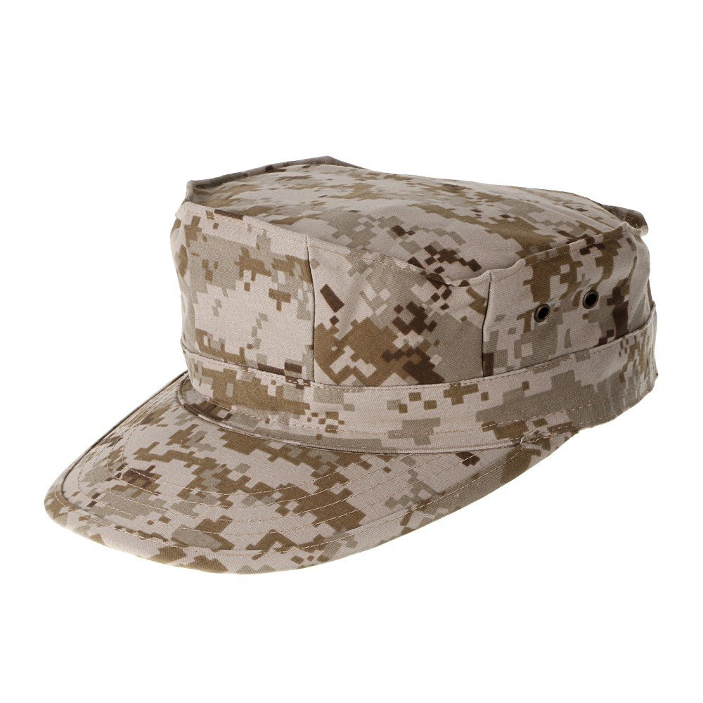 Amazon.com : EDTara Outdoor Tactical Uniform Cap Sun Block Hat Camouflage Octagonal Cap Unisex ACU : Sports & Outdoors