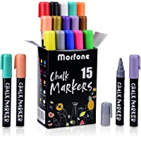 Deals on Morfone Markers 15 Colors with 32 Chalkboard Labels