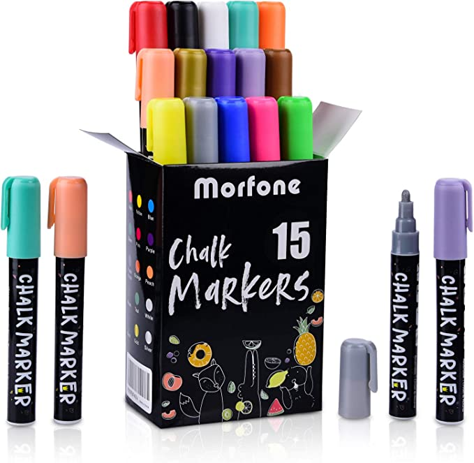rotuladores borrado en seco de tiza liquida chalk