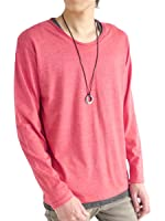 (モノマート) MONO-MART ツインロール カットソー カットソー Tシャツ 長袖 ストレッチ カラー ちょいゆる size モード メンズ