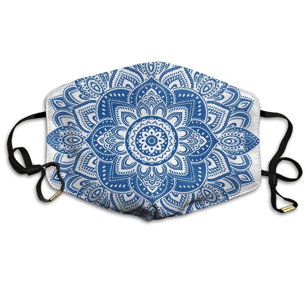 Amazon.com: Adulto Floral Mandala Tribal damasco boca ...