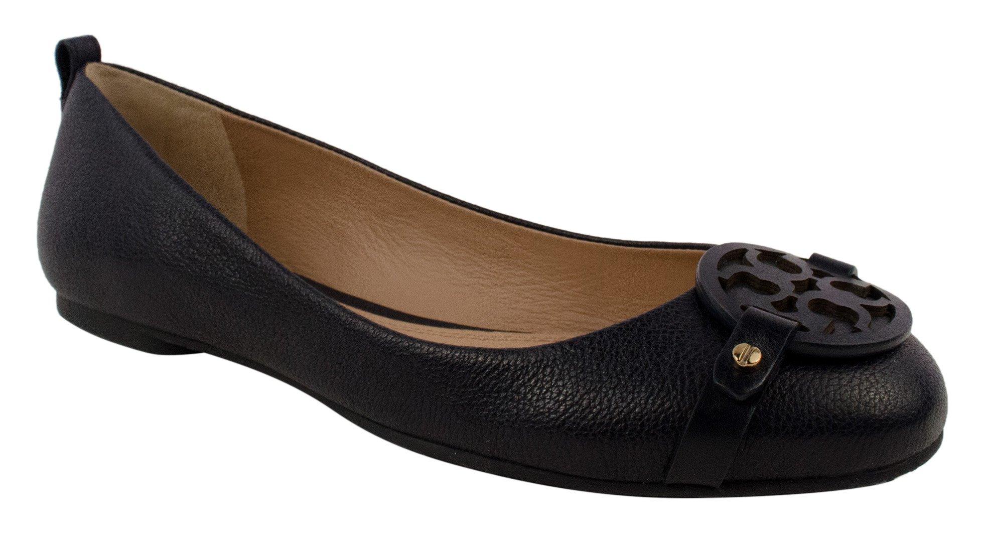 Mini Miller Tory Burch Women's Flat Shoe-Bn-6