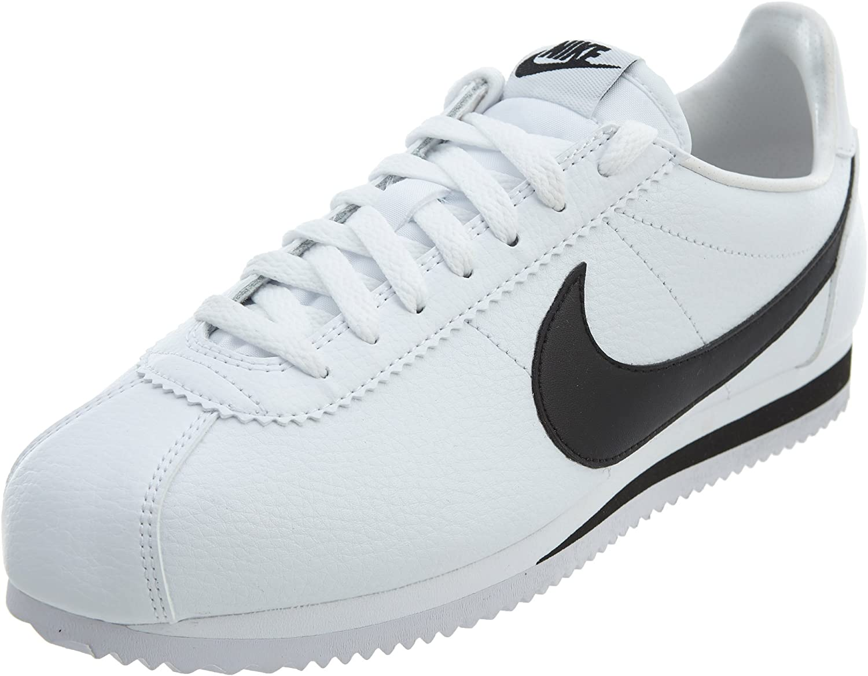 NIKE Classic Cortez Leather, Zapatillas de Running para Mujer: Amazon.es: Zapatos y complementos