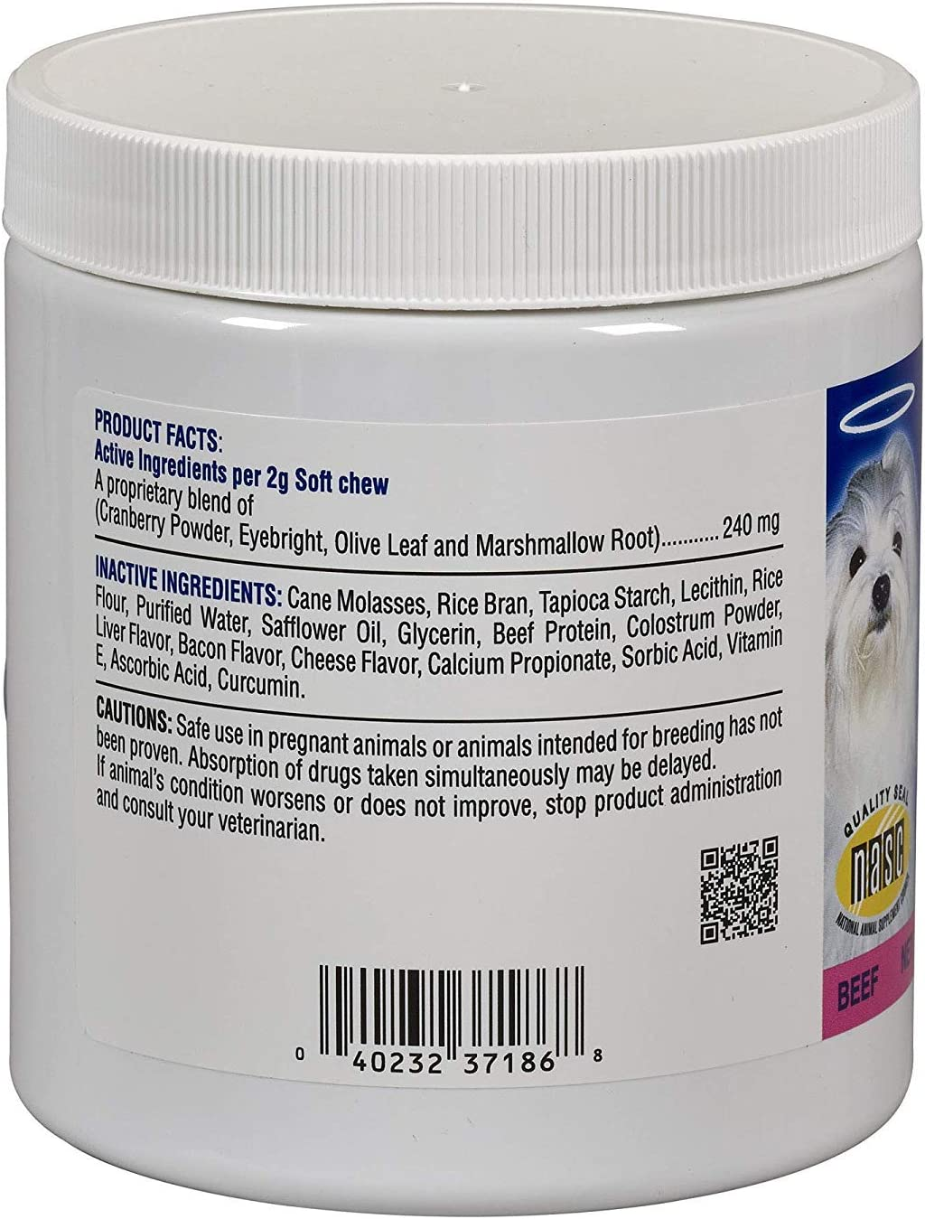 (2 Pack) Angels\' Eyes AENSC120PLBF 120 Counts Angels\' Eyes Plus Soft Chews for Dogs 612UHqWwklL