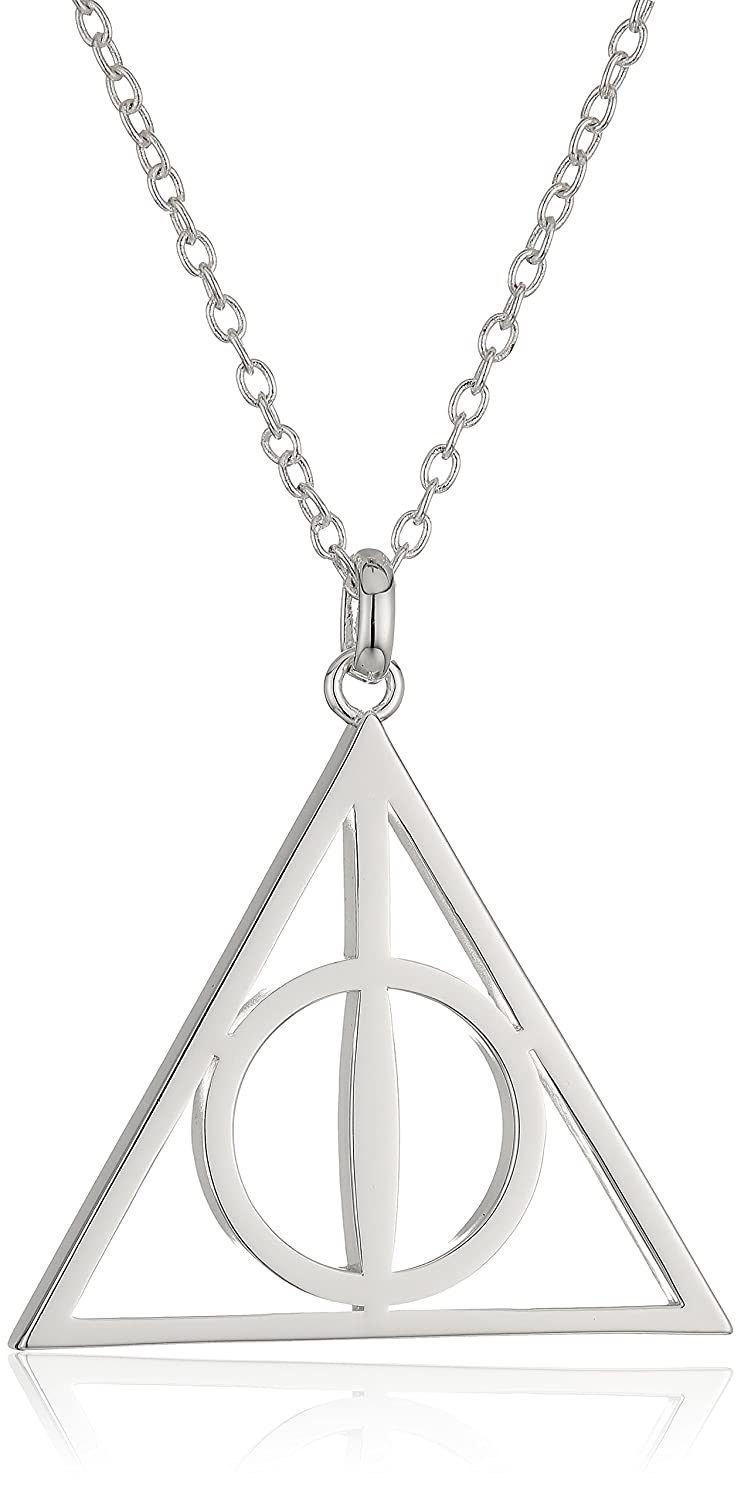 Amazon Harry Potter Silver Plated Deathly Hollows Symbol