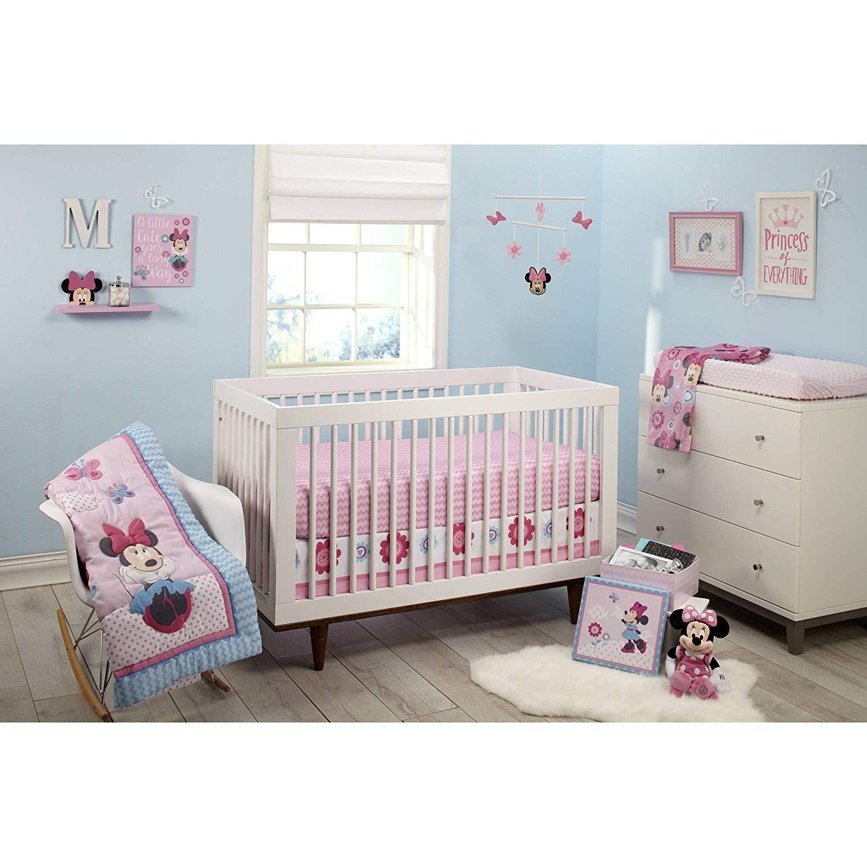 Minnie Mouse Happy Day 4-Piece Crib Bedding Set