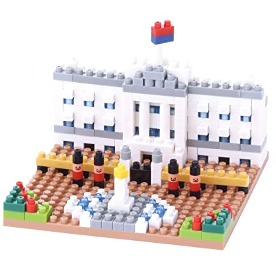 Nanoblock Buckingham Palace Building Kit: Toys & Games [5Bkhe0306735]