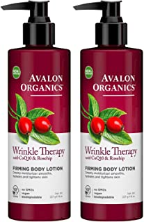 product image for Avalon Organics Wrinkle Therapy with CoQ10 & Rosehip Firming Body Lotion - 8 oz - 2 pk