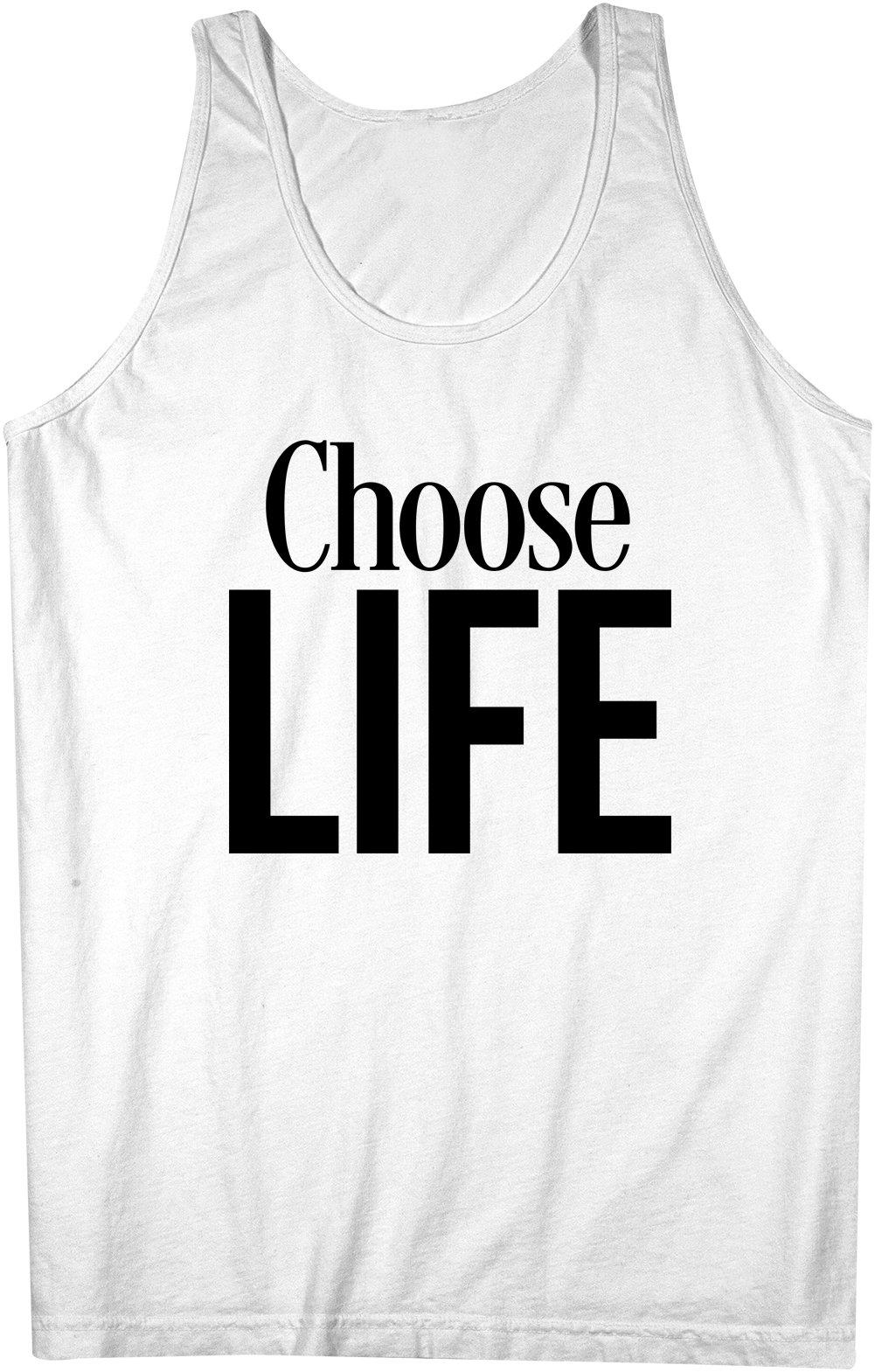 Choose Life Tank Top Sleeveless Shirt X 9106