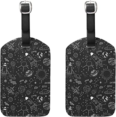 Torrent Pattern Labels With Privacy Cover For Travel Bag Suitcase Travel Accessory Luggage ID Tag