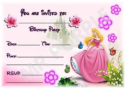 Sleeping Beauty Disney princesa fiesta de cumpleaños ...