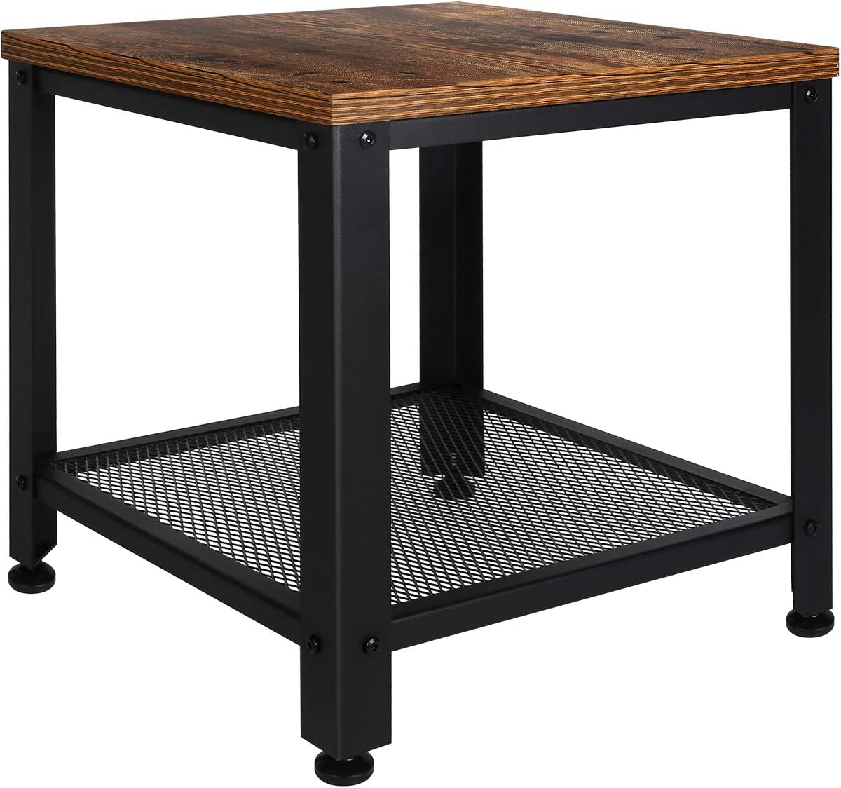 TomCare End Table 2-Tier Side Table