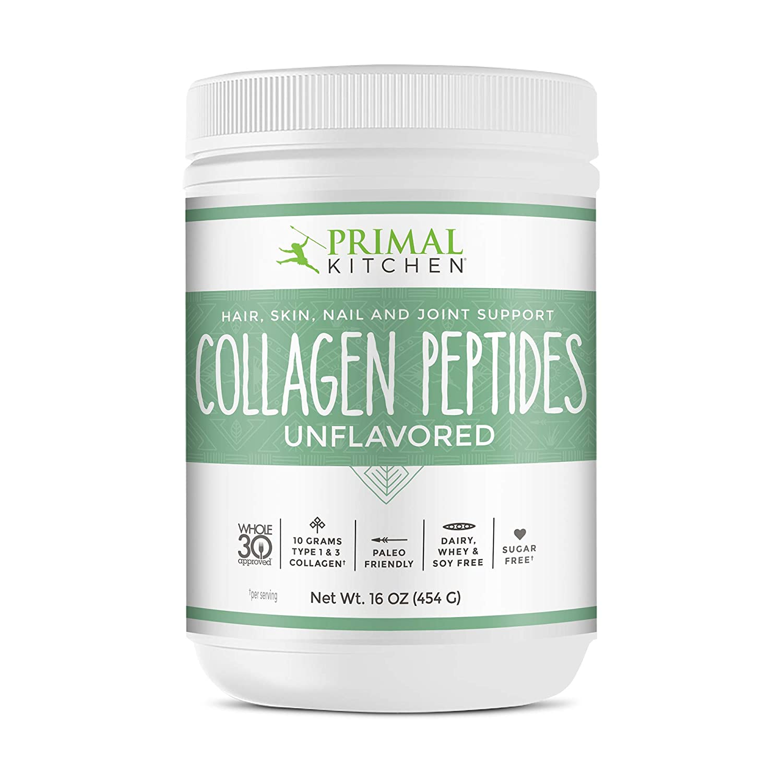 Primal Kitchen - Polvo de péptidos de colágeno sin sabor - 16 oz ...