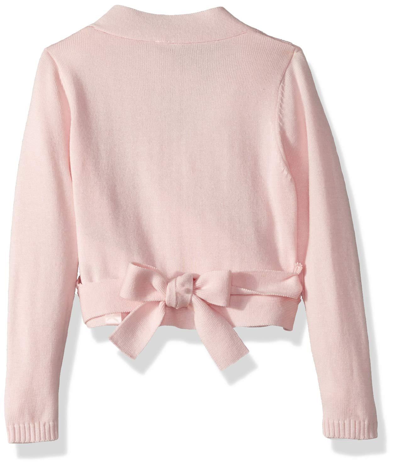 Capezio Girls' Little Wrap Sweater, Pink, Small by Capezio (Image #2)