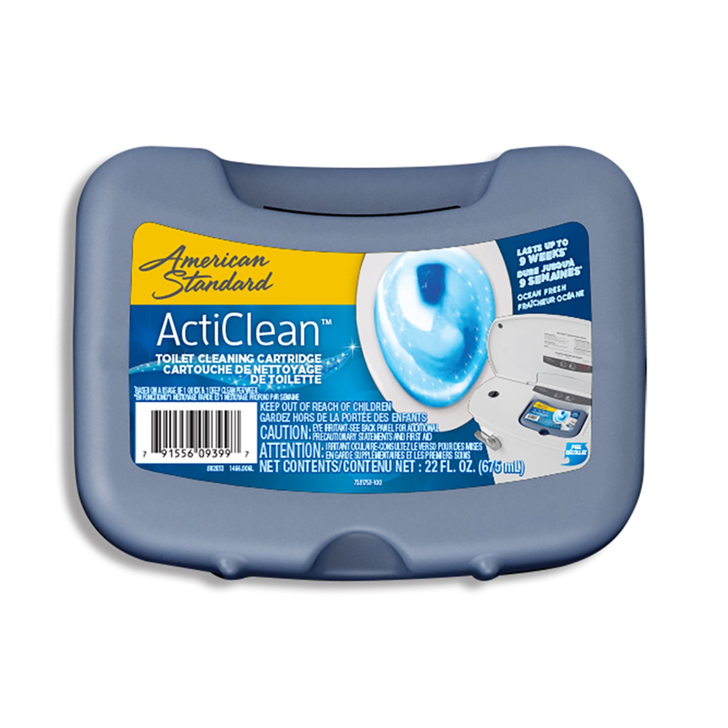 American Standard ActiClean 22-oz Ocean Fresh Toilet Bowl Cleaner ...