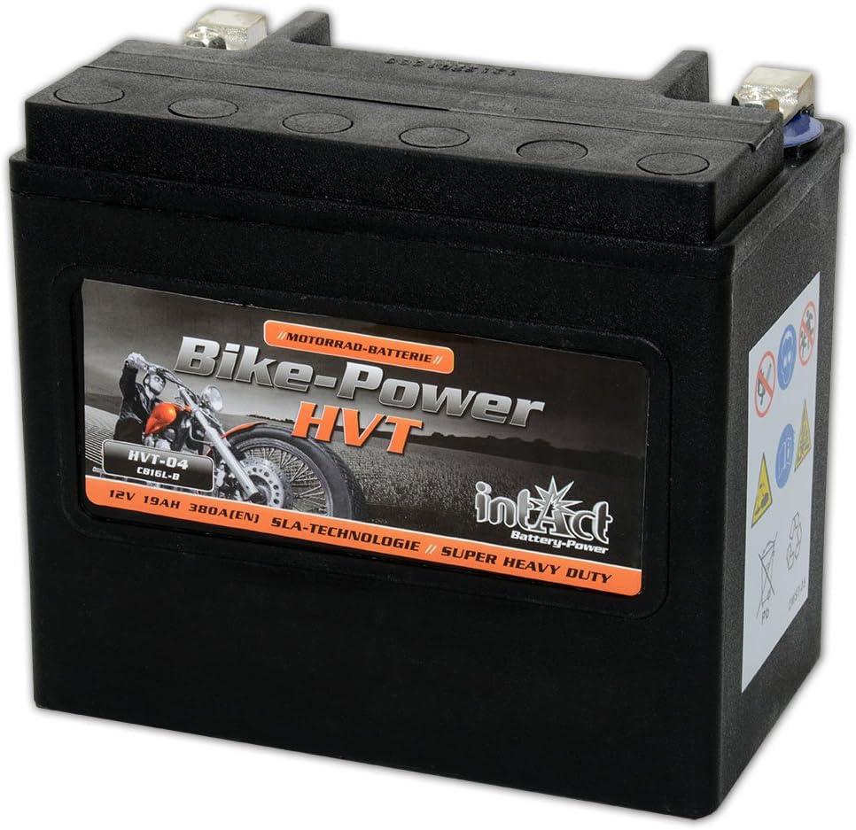 Intakt Bike Bull Motorradbatterie SLA HVT-04 12V 19Ah 450A CB19L-B