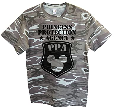 """a48cce155 Mens Mickey Mouse T-Shirt """"Princess Protection Agency PPA"""" Funny Disney T  Shirt"""