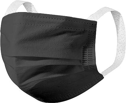 Amazon Com Iheyi Usa Stock Children S Face Mask Kids Face Masks All Black Color 50 Pcs Clothing