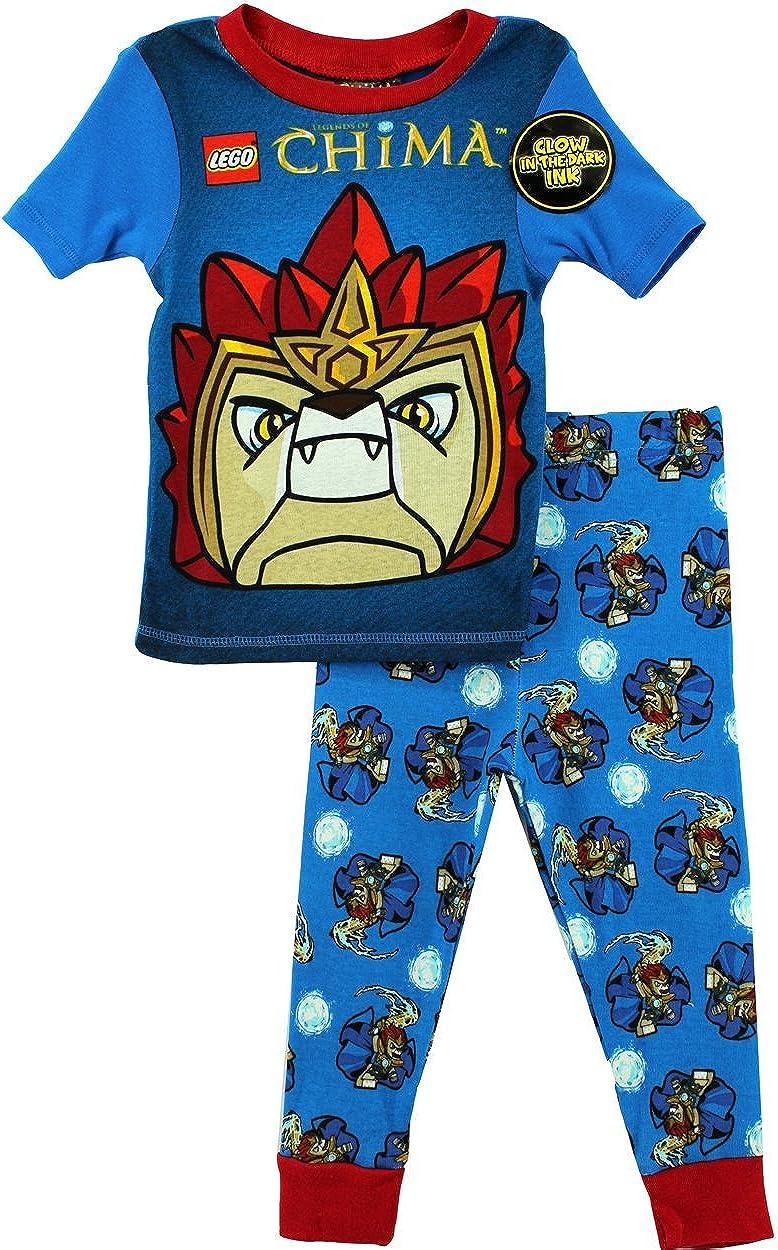LEGO Chima Boys Laval Blue Pajamas S4PBA128LC