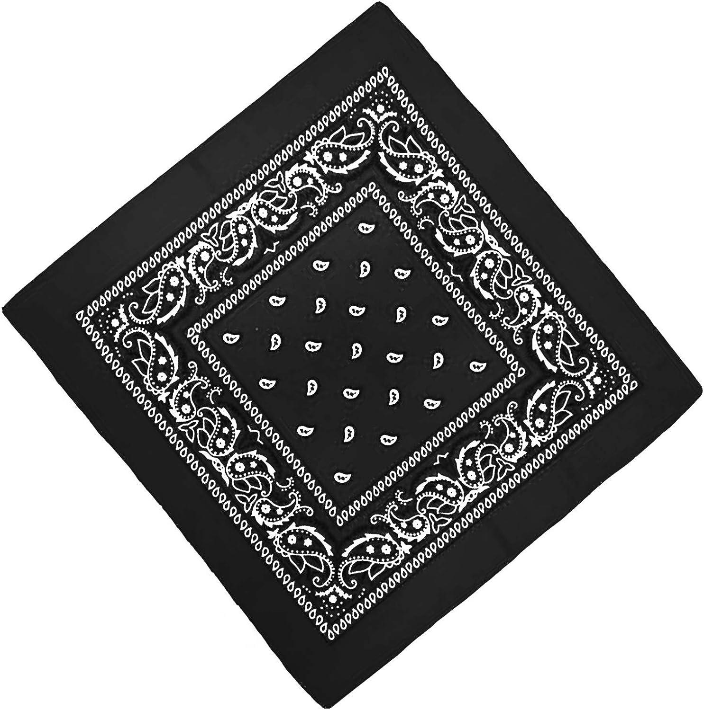 Farben Paisley Muster Unbekannt Bandana Kopftuch Halstuch Nickituch Biker Tuch Motorad Tuch verschied