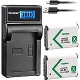 Kastar Battery (X2) & LCD Slim USB Charger for Sony NP-BX1 BC-CSX & Sony NP-BX1 and Cyber-shot DSC-HX50V,DSC-HX300,DSC…