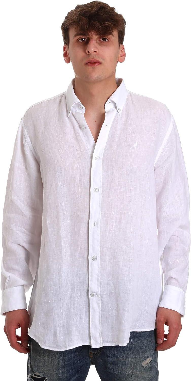 Navigare 91108BD - Camisa de Hombre de Lino con Botones (Talla S/7XL): Amazon.es: Ropa y accesorios