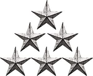 Barn star - metal star Texas Star Art rustic western country family farmhouse wall decoration (5.5