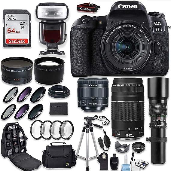 Review Canon EOS 77D DSLR