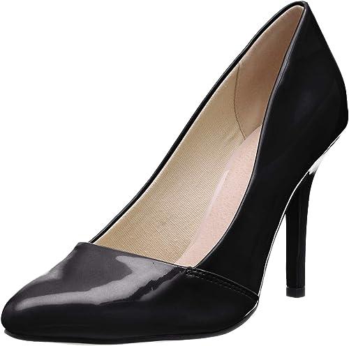 Bianco Loafer Pump 100, Zapatos de tacón con Punta Cerrada para Mujer