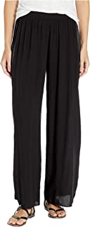 product image for Hard Tail Women's Pull-On Wide Racer Stripe Pants
