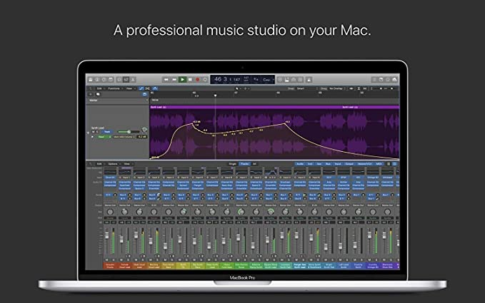 Logic can now run up to five times the number of real-time plug-ins.