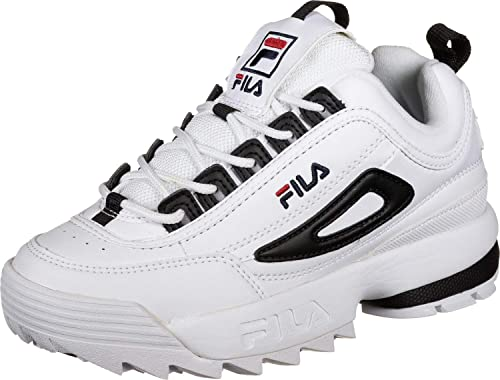 Fila 1010604 Disruptor CB Low/Primavera Estate 2019 Bianco/Nero