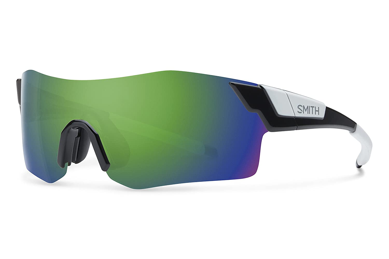 Smith ancmgmbk Herren Schwarz Rahmen grÜn Objektiv Sport-Sonnenbrille