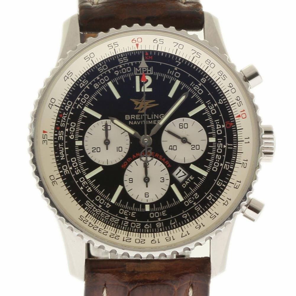 42eefa4caa31 Amazon.com  Breitling Navitimer Swiss-Automatic Male Watch A41322  (Certified Pre-Owned)  Breitling  Watches
