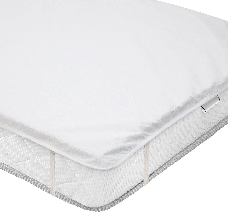 valneo Protector de colchón, Impermeable, 90x200 cm - cubrecolchón, sobrecolchón, Base de colchón