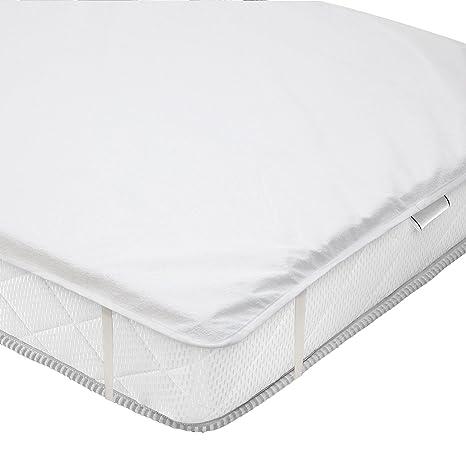 valneo Protector de colchón, Impermeable, 90x200 cm - cubrecolchón, sobrecolchón, Base de
