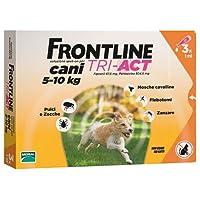Frontline Tri-Act  5–10kg, (boite de 3 pipettes)