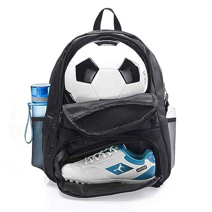 Amazon.com: ERANT Bolsa de fútbol para niñas – Mochila de ...