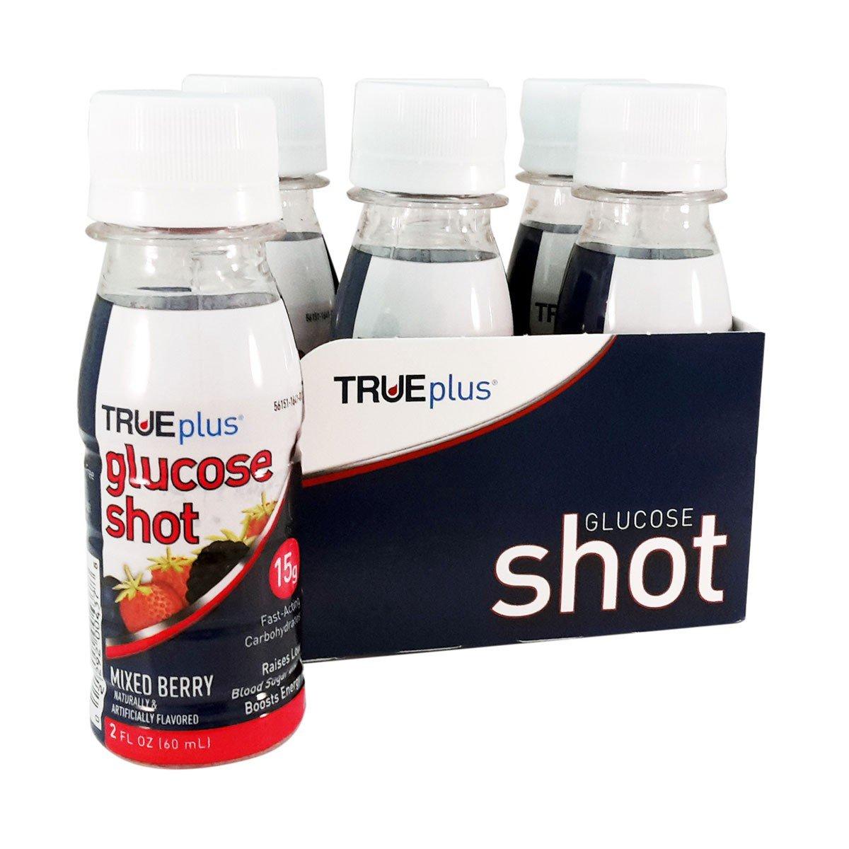 TRUEplus Glucose Shot 6-pack - Mixed Berry