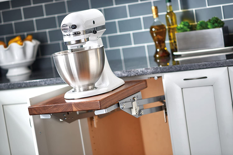 Rev-A-Shelf RAS-ML-HDSC Appliance Lift with Soft-Close Mechanism, Chrome