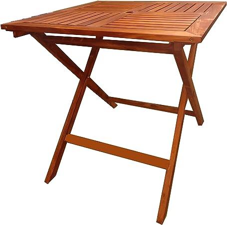 Pj Table Portable Pliante En Bois Table Pliante 60x60 Cm