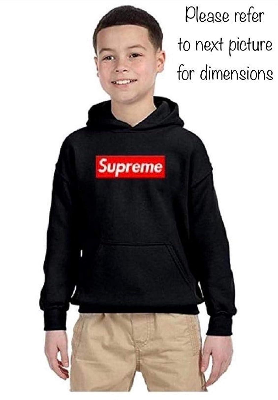 7c92717ea4a Denver TEE Supreme Kids Youth Hoodie Black