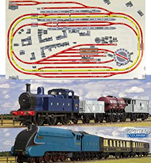 HORNBY Digital Train Set HL6 compact oval layout with ... on