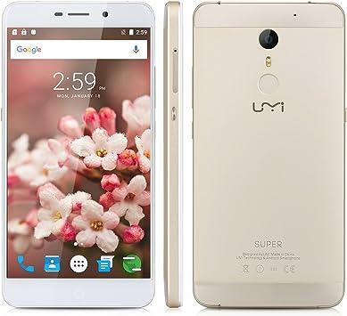 UMIDIGI Super - 32GB Smartphone libre 4G LTE (Android 6.0 ...
