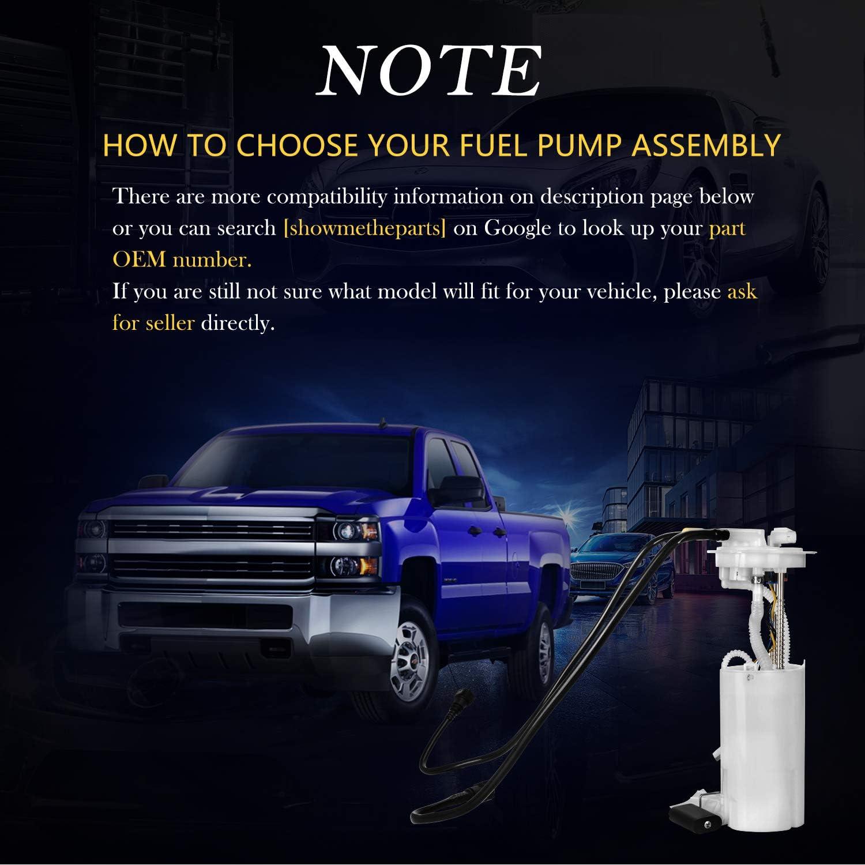 DWVO Fuel Pump Compatible with 2004-2007 Dodge Durango 2007 Chrysler Aspen 3.7L 4.7L 5.7L
