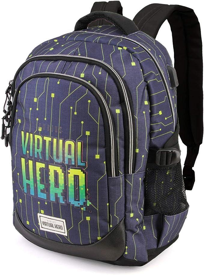Karactermania Virtual Hero OMG-Running HS Rucksack Mochila Tipo Casual 44 Centimeters 21 Multicolor: Amazon.es: Equipaje