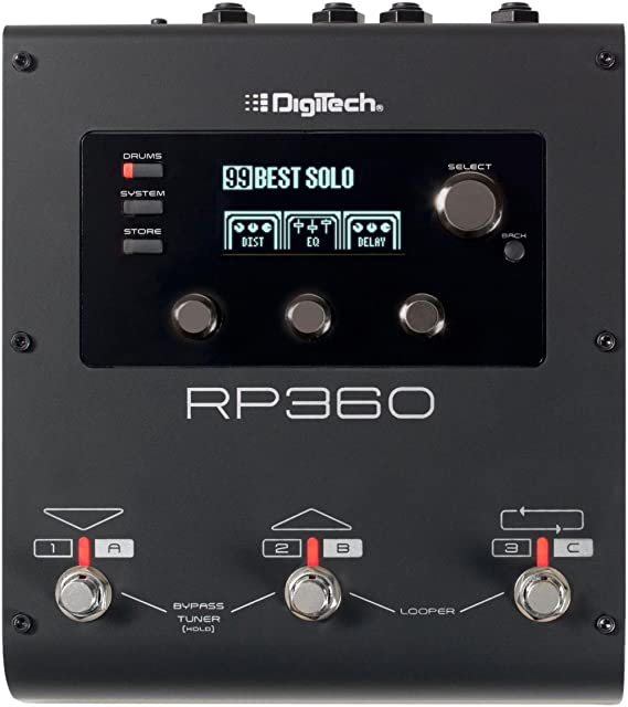 DigiTech RP360 Guitar Multi-Effects Pedal