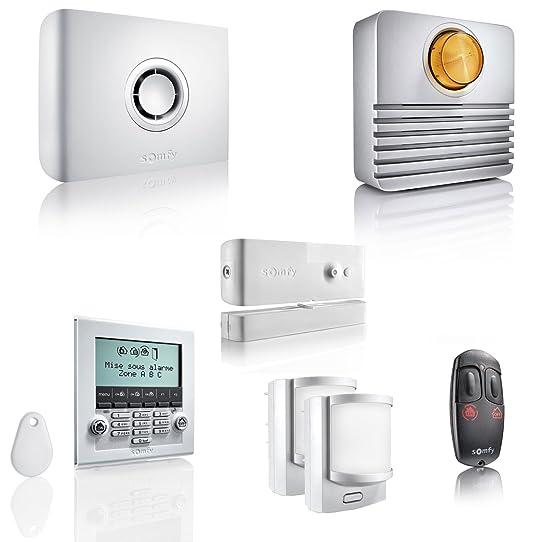 Somfy 2401427 Système D'Alarme Sans Fil Protexiom Ultimate Gsm