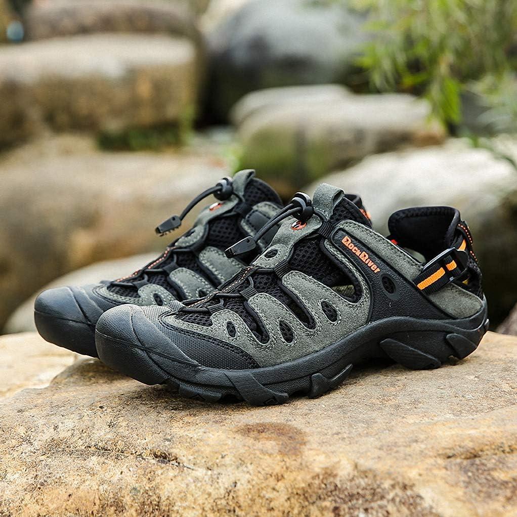 Giles Jones Men Hiking Shoes Summer Non-Slip Sandals Breathable Trekking Trail Shoes